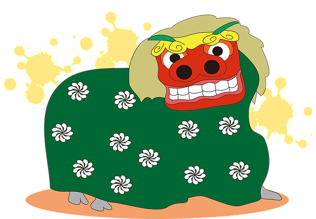 Free illustration: Lion Dance, Japan, New Year'S Day - Free Image on Pixabay - 1251558 (29154)
