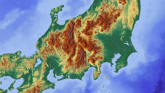 Free illustration: Japan, Tokyo, Fuji, Map, Relief Map - Free Image on Pixabay - 1804903 (31999)